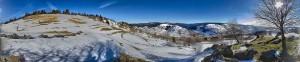 View above La Bresse