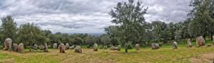 Almendres cromlech near Evora