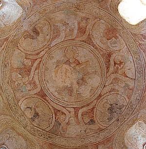12C Fresco, St Ulrich Chapel, Avolsheim, Alsace