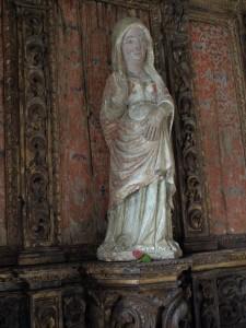 Pregnant Virgin Mary at São Pedro de Balsemão
