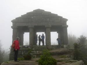 Wet and misty climb to The Donon