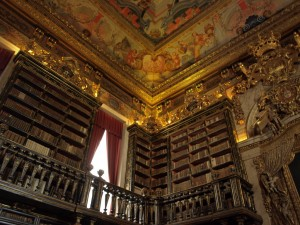 Biblioteca Joanina (Dom João V Library) Coimbra