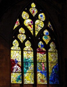 Metz Cathedral-Chagall Creation window