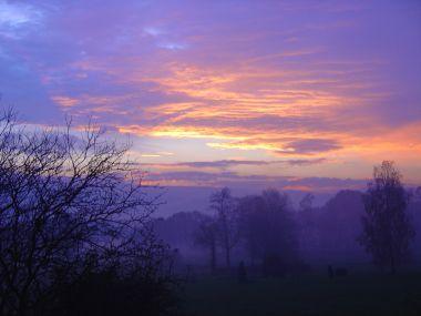 Sunset over Saint Léonard - click here