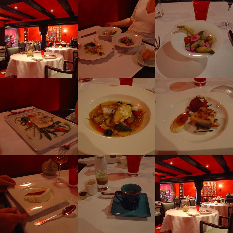 La table du gourmet riquewihr 25 may 2007 a slice of - Restaurant riquewihr table du gourmet ...